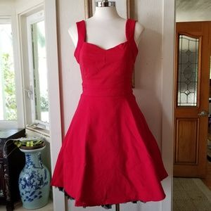 Hot Topic Mad Men Retro Fit and Flare Pinup Dress